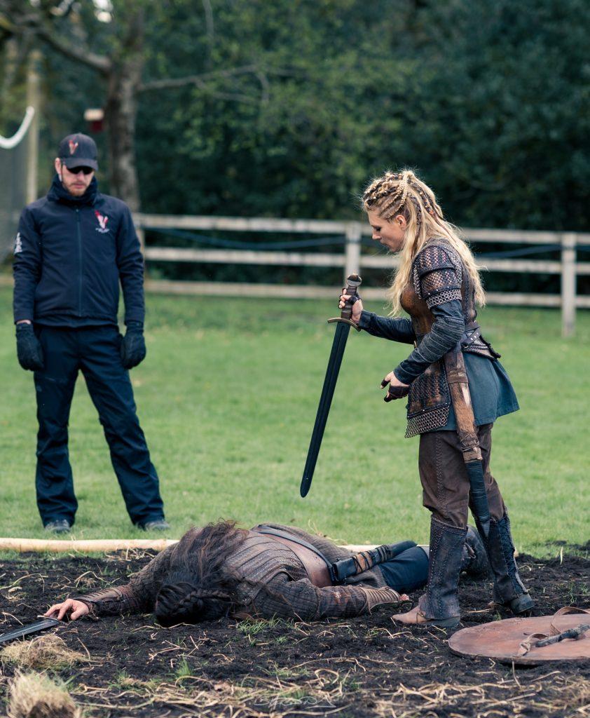 Lagertha in battle