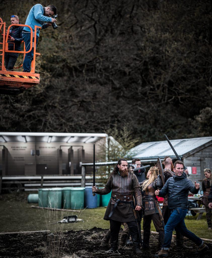 Vikings 5A photoshoot Lagertha